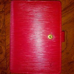 Authentic Louis vuitton agenda cover